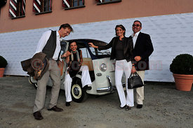 Familie Kriemler mit Friends Opening Night Festival da Jazz- Live at Dracula in St.Moritz