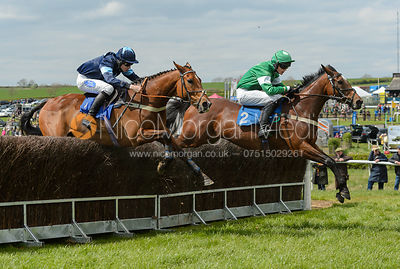 PAY THE KING (Tom Strawson) - Race 1 - The Quorn Point-to-Point 2017