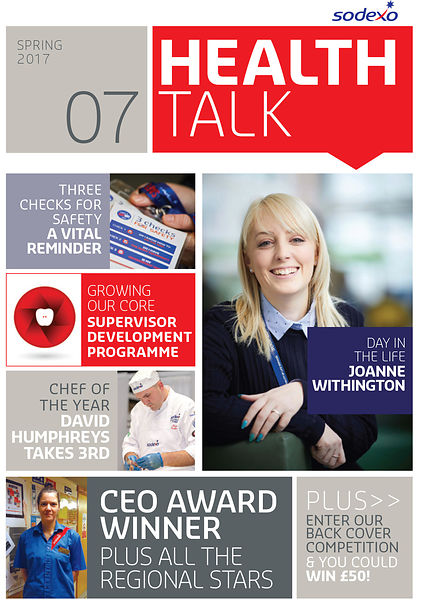 Sodexo Health Talk industrial Magazine