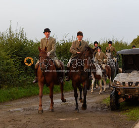 The Cottesmore field at Betts Barn 27/9