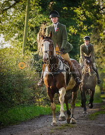 Charlotte Bell - The Cottesmore Hunt at Tilton on the Hill, 9-11-13