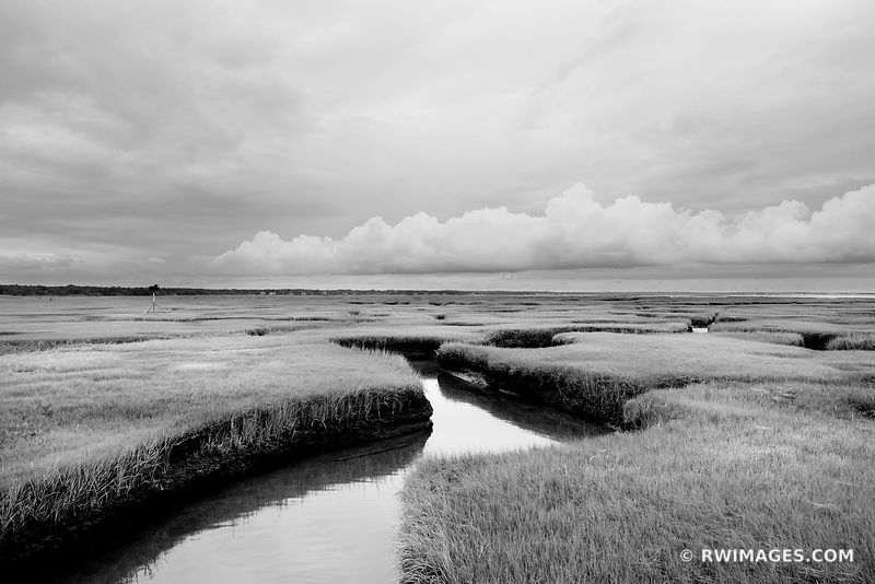 Cape Cod Massachusetts - Black and White Photos