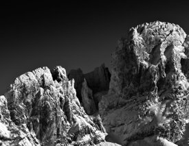 Mountain, tribute to Ansel Adams