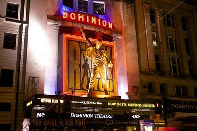 Dominion Theatre in Tottenham Court Road - We Will Rock You