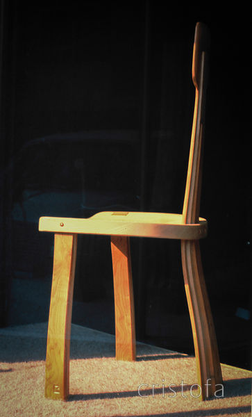 an ash and yew chair