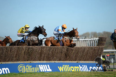 Racing at Newotn Abbot 25th March 2015