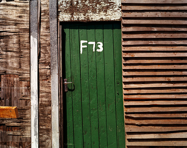 Green door, Gugulethu, Cape Town, South Africa
