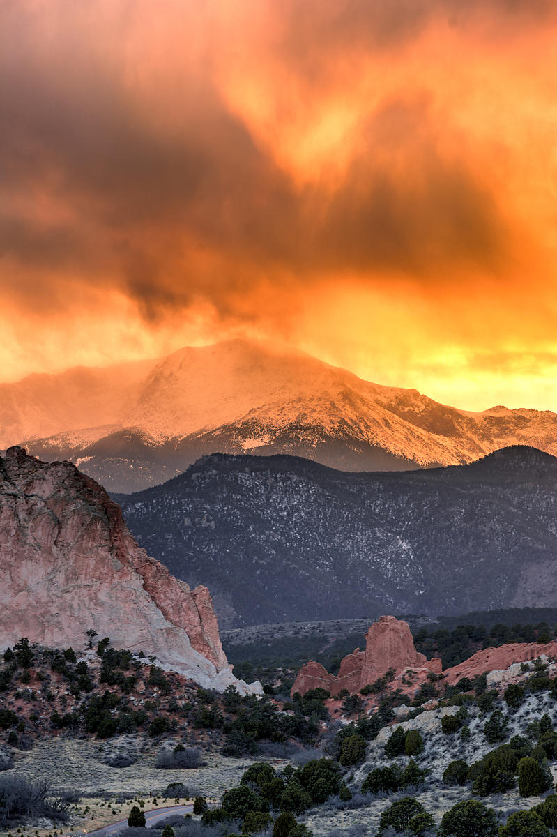 Drama at Garden of the Gods