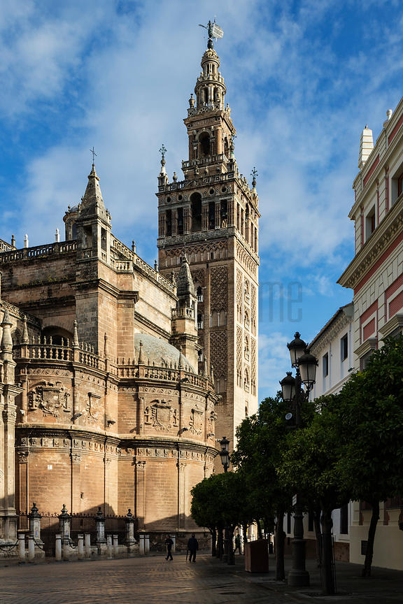 Seville Cathedral and the The Giralda Tower