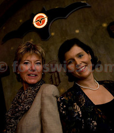 Uschi Moos and Katja Grandl at Festival da Jazz- Live at Dracula Club in Saint St. Moritz
