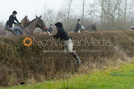 jumping the first hedge