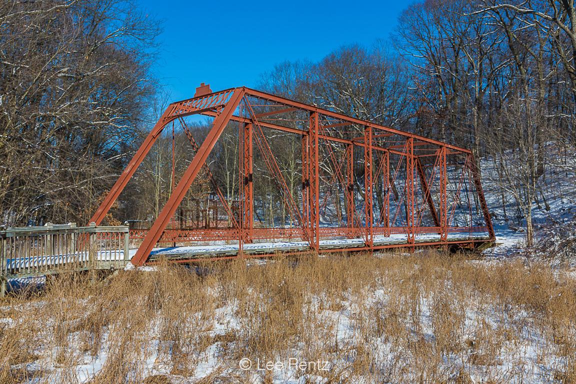 Lee Rentz Photography   Gale Road Bridge in Historic Bridge