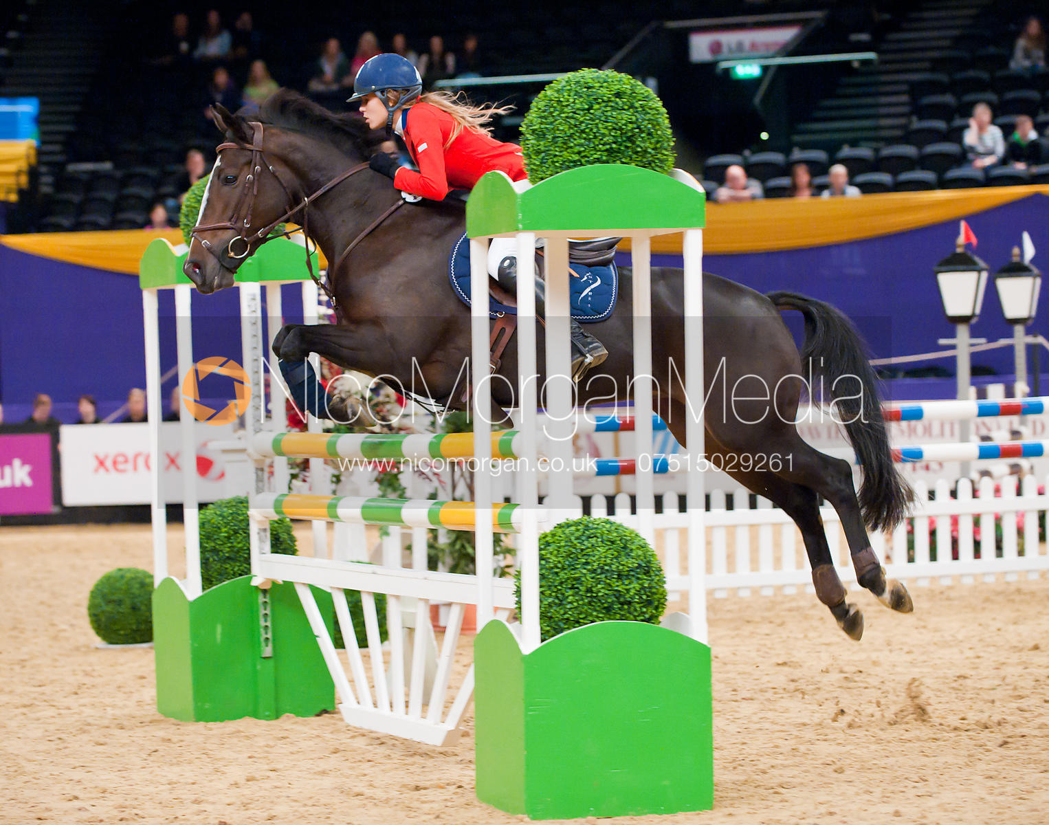 Jessica Mendoza and Saorsie, Blue Chip Pony Newcomers, , Horse of the Year Show 2010