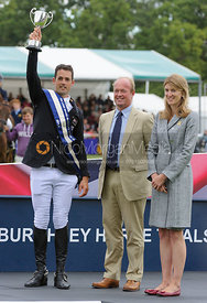 Jonathan Paget, Jeremy Hicks and Miranda Rock - Burghley Horse Trials 2013.