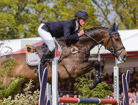 Ludwig Svennerstal and ALEXANDER - Show Jumping phase, Mitsubishi Motors Badminton Horse Trials 2014