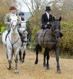 Bruce Langley McKim, Sophie Walker at the Meet at Parva Lodge
