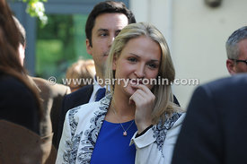 16th September 2013. Fine Gael parliamentary  meeting in The Hermitage, Killenard, County Laois.Pictured is Helen McEntee TD....