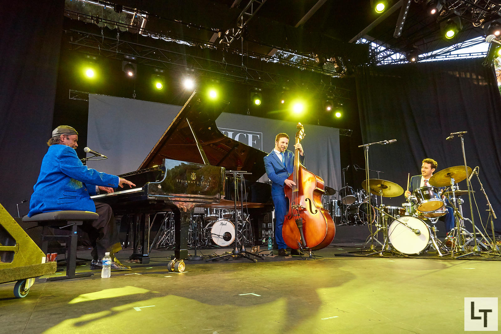 The Legendary Johnny O'Neal Trio, Nice Jazz Festival, le 19 Juillet 2017
