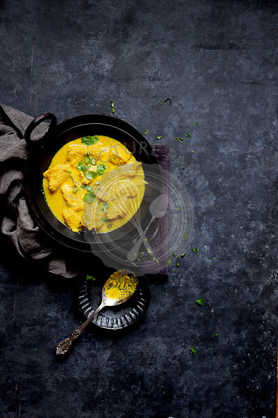 Fish Curry with coconut and mustard