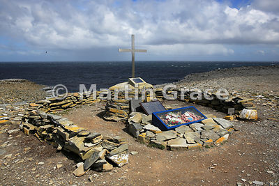 HMS Sheffield Memorial, Sea Lion Island, Falkland Islands