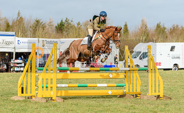 Piggy French and FLEMINGTON RUBY. Oasby (1) Horse Trials 2019