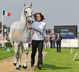 Caroline Powell and Lenamore - 2nd Inspection - Burghley 2010