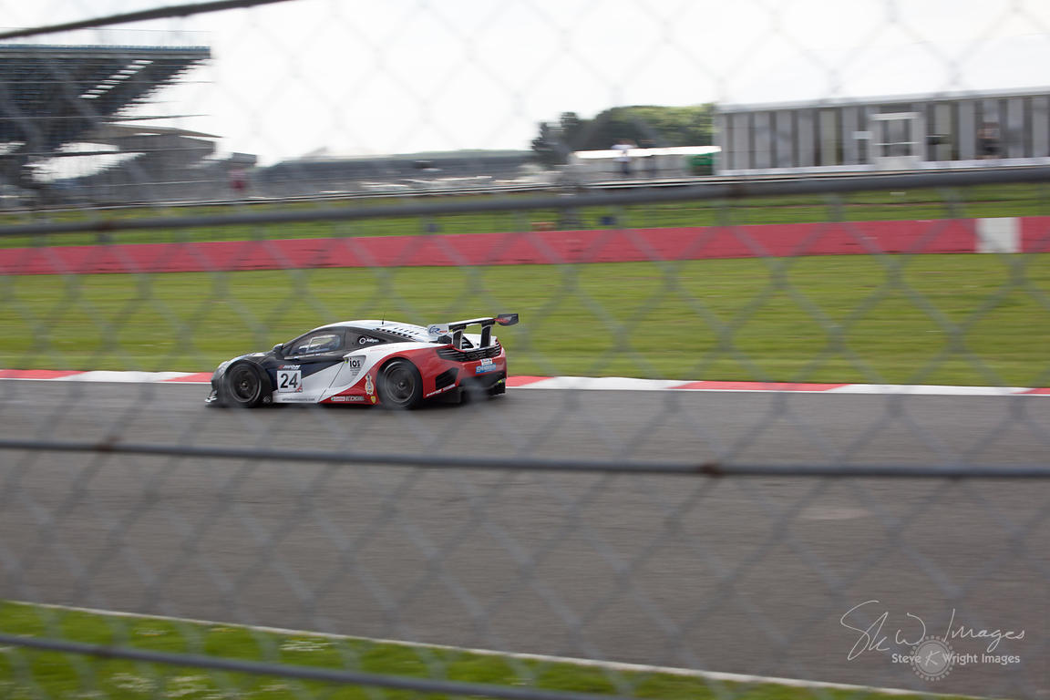 United Autosports' McLaren 12C GT3 in action at the Silverstone 500 - the third round of the British GT Championship 2014 - 1...