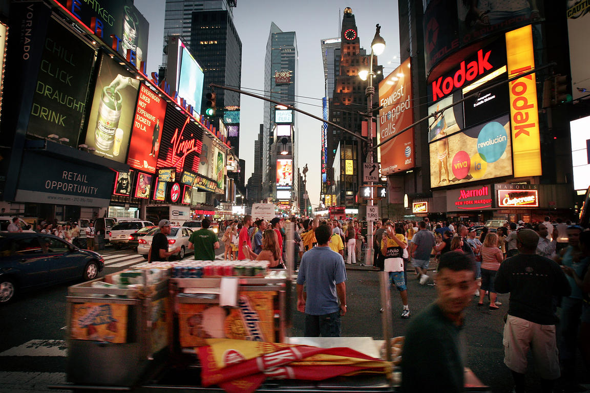Time Square in 2007