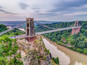 Clifton suspension bridge, Bristol, UK