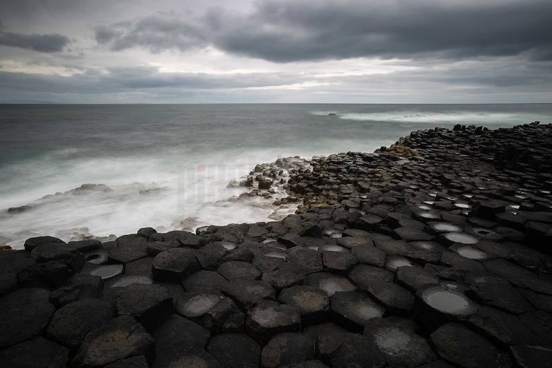 Columnar Basalt at the Giant's Causeway