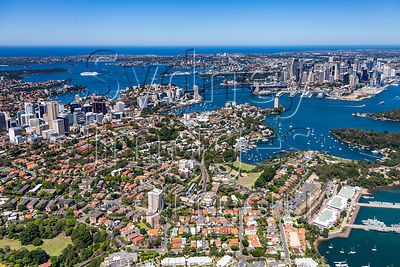 Waverton to Sydney City