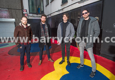 14th January, 2017.The band Imlé who are from left: Fergal Moloney, Cian Morgan-McCarthy, Marcus Mac Conghail and Pádraig Ó C...