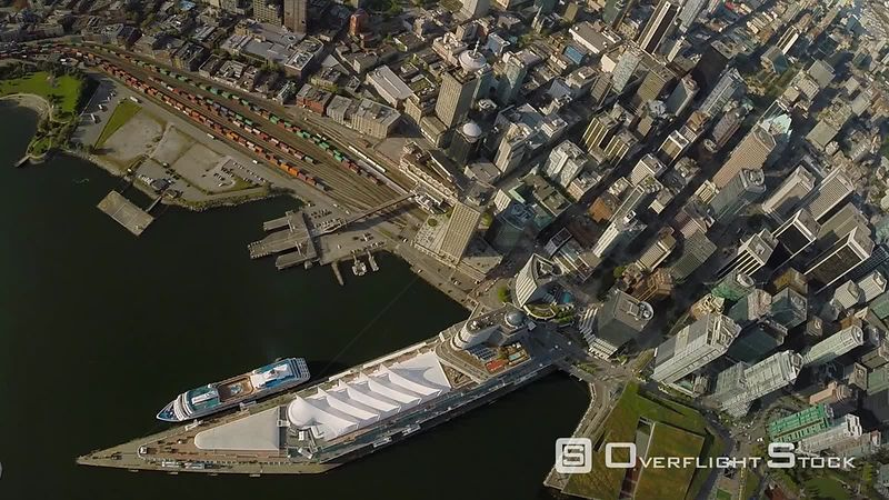 Downtown Vancouver and Cruise Ship Terminal