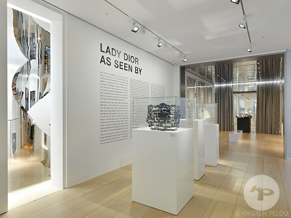 Retail architecture photographer - Christian Dior Flagship store in Seoul - interior design by Peter Marino Architect, buildi...