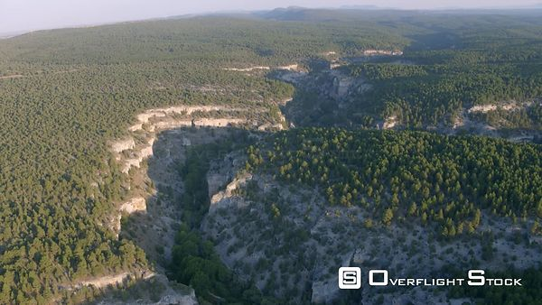 Cañón del Río Lobos Natural Park Drone Video Spain
