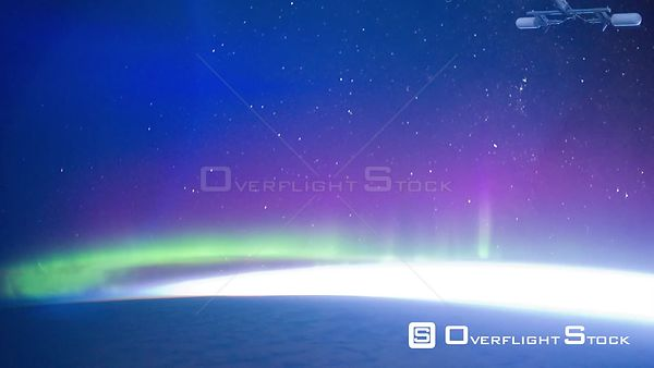 Time-Lapse from ISS over  Australia Aurora Australis Exp30 03 Jan 2012