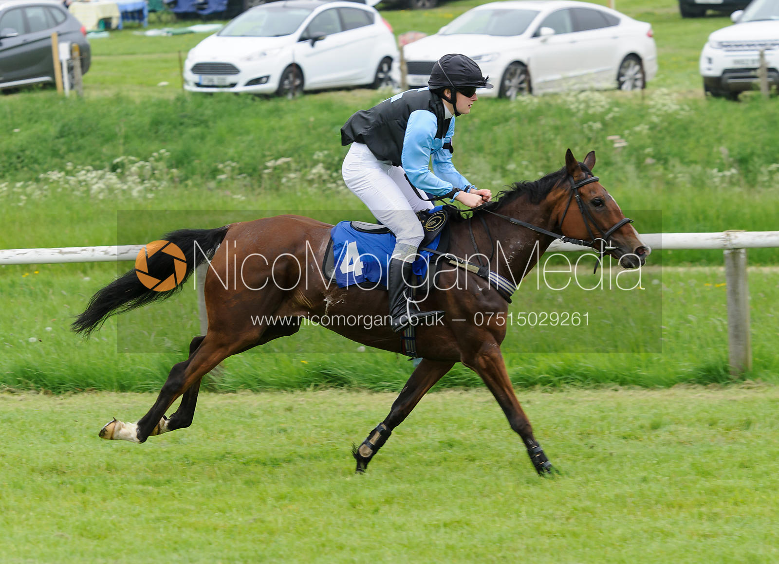 Race 3 - 148cms Novice Riders - Pony Racing, Garthorpe 4/6