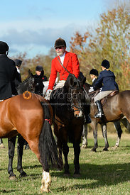 Frank Herrick near Little Dalby. Quorn Hunt Opening Meet 2018