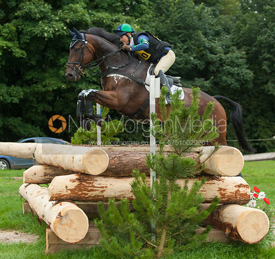 Polly Stockton and WESTWOOD MARINER - cross country - CIC** - Somerford Park (2) Horse Trials 19/8/12