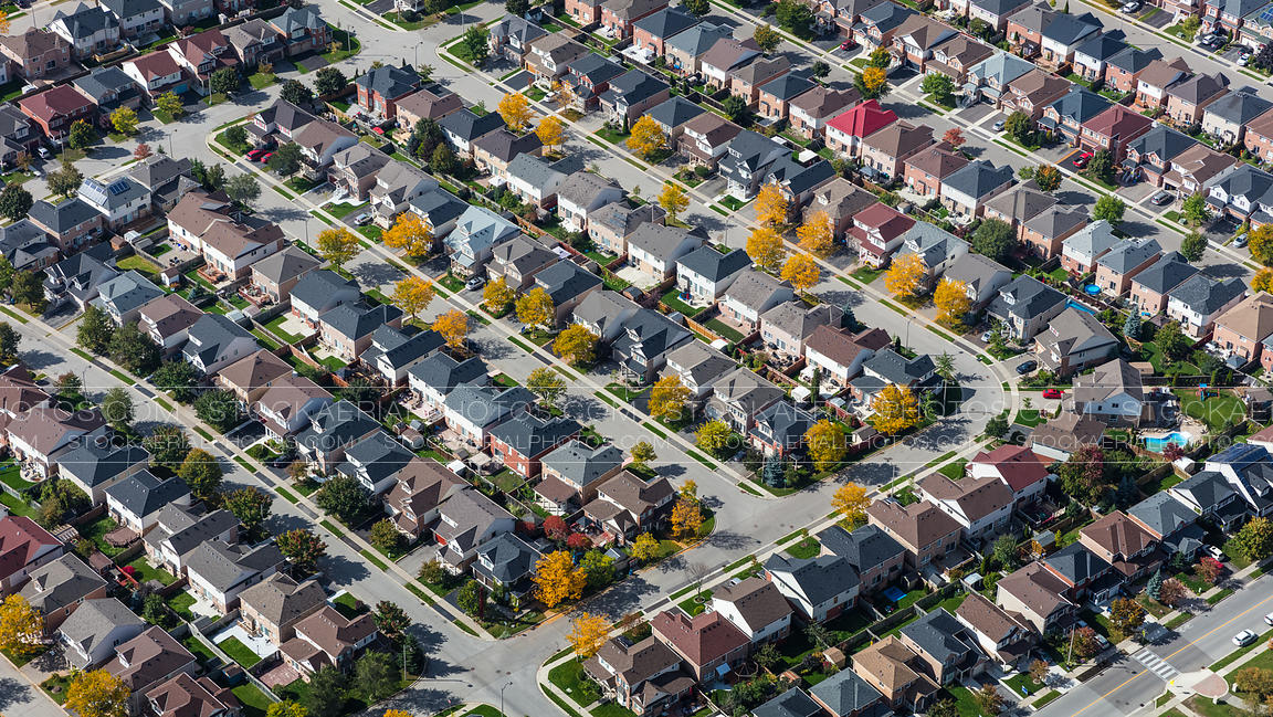 Autumn Suburbs