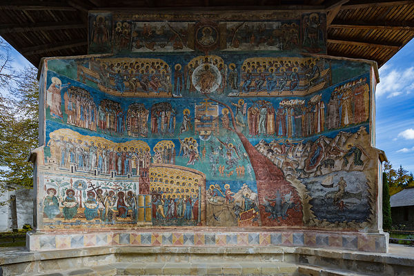 Fresco of the Last Judgement