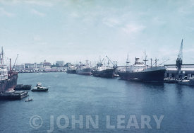 Colombo Harbour, Ceylon (now Sri Lanka) in 1966.