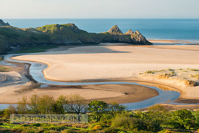 Three Cliffs Bay, Gower Peninsula - BP3619
