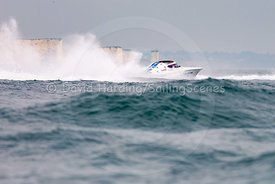Blastoff, C-100, Fortitudo Poole Bay 100 Offshore Powerboat Race, June 2018, 20180610104