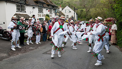 Chanctonbury Ring Morris Men, Faulking, West Sussex, Jason Bye, 01/05/10