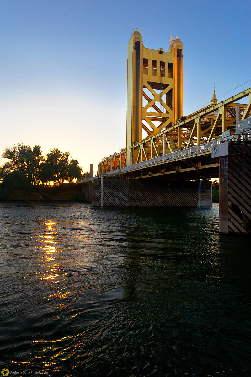 Sacramento River & Tower Bridge #7