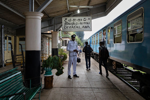 Station Master at Diyatalawa