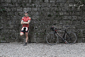 Cycling sports portrait