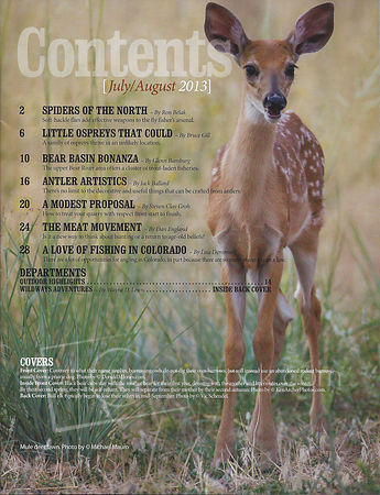 Colorado Outdoors-July/August issue