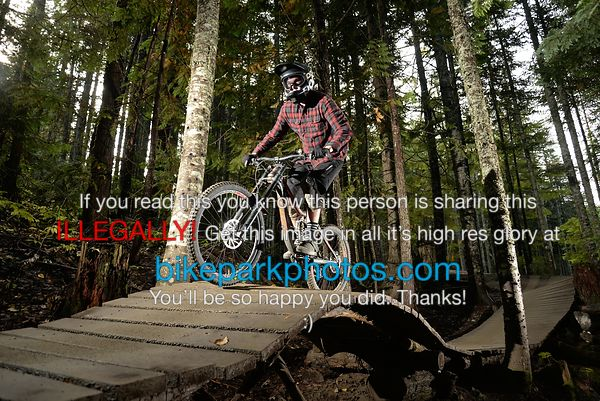 Monday September 24th Ninja Cougar bike park photos